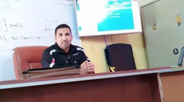 وقفة قصيرة مع الكابتن الدكتور حيدر جابر الشمري حيدر جابر : إتحاد الكرة العراقي لا يلبي الطموح وغير قادر على التخطيط السليم ولا يأخذ بنصيحة رواد الكرة والاكاديميين