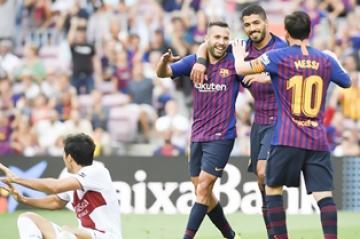 ألبا عن موسم برشلونة:  لا تستهينوا بلقب الليغا!