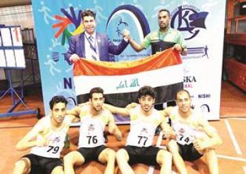 العراق يحرز المركز السادس في بطولة العالم لألعاب القوى للصم والبكم